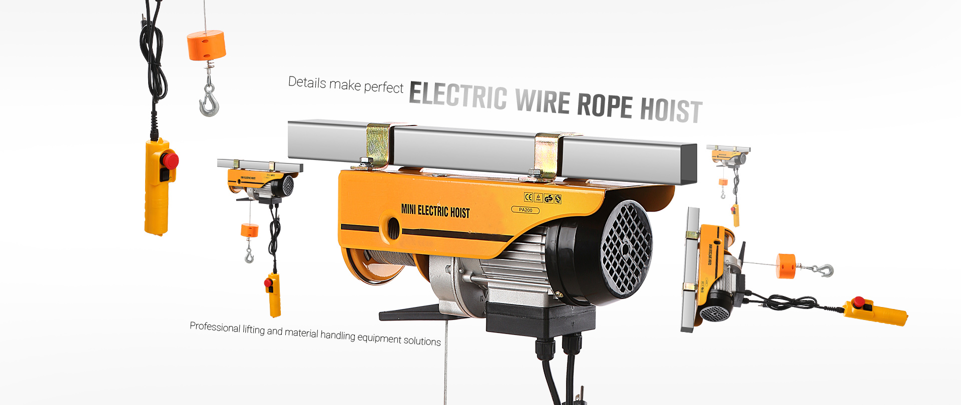 Electric-wire-rope-hoist